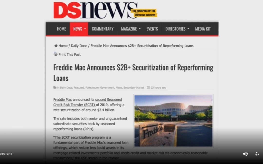 Freddie Mac RPL Securitization