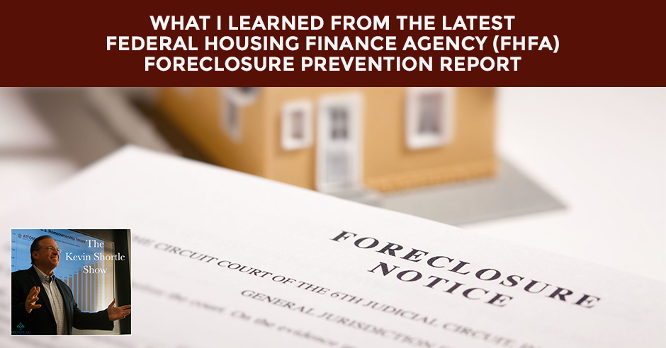 KSS 35 | FHFA Foreclosure Prevention Report