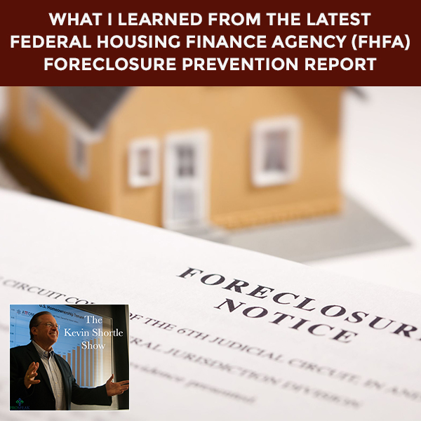 What I Learned From The Latest Federal Housing Finance