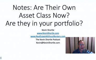 Notes Are Their Own Asset Class